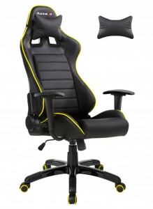 Fotel Gamingowy HUZARO FORCE 6.0  YELLOW