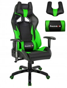 Fotel Gamingowy HUZARO FORCE 7.2 GREEN