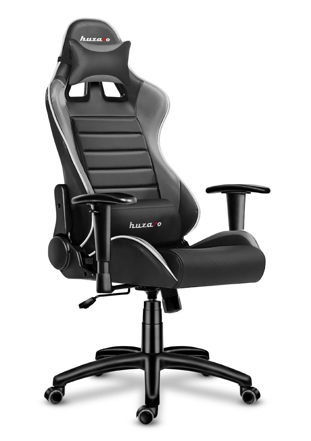 Правий кут ігрового крісла Huzaro Force 6.0 Grey