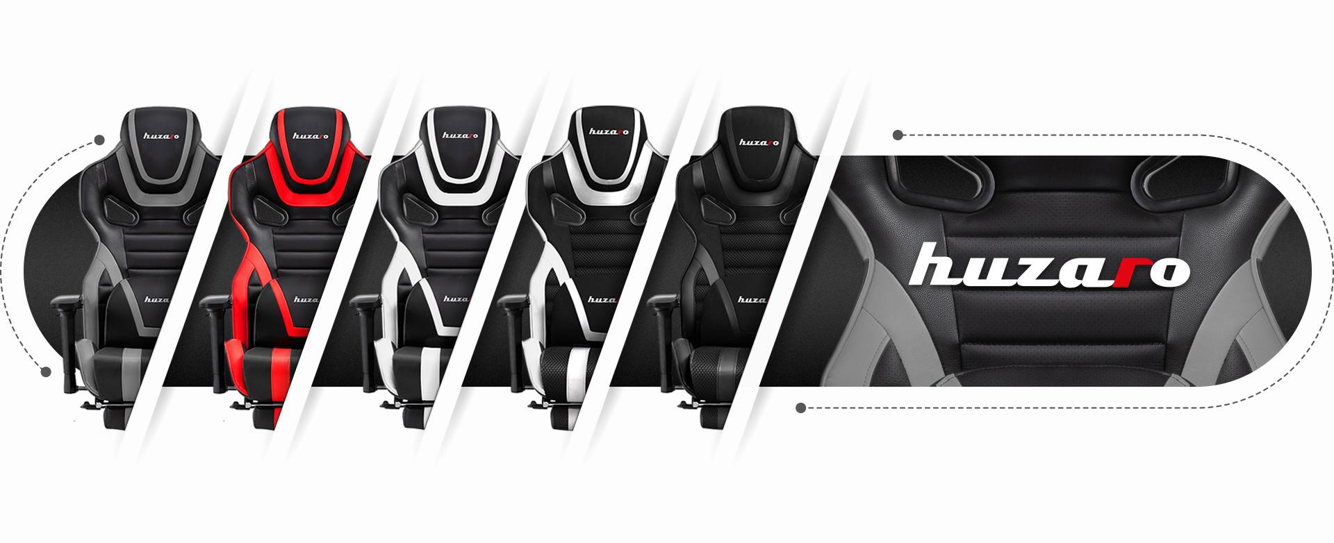 Доступные цвета кресла Huzaro Force 7.5