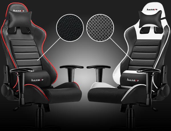 materiály pre herné stoličky