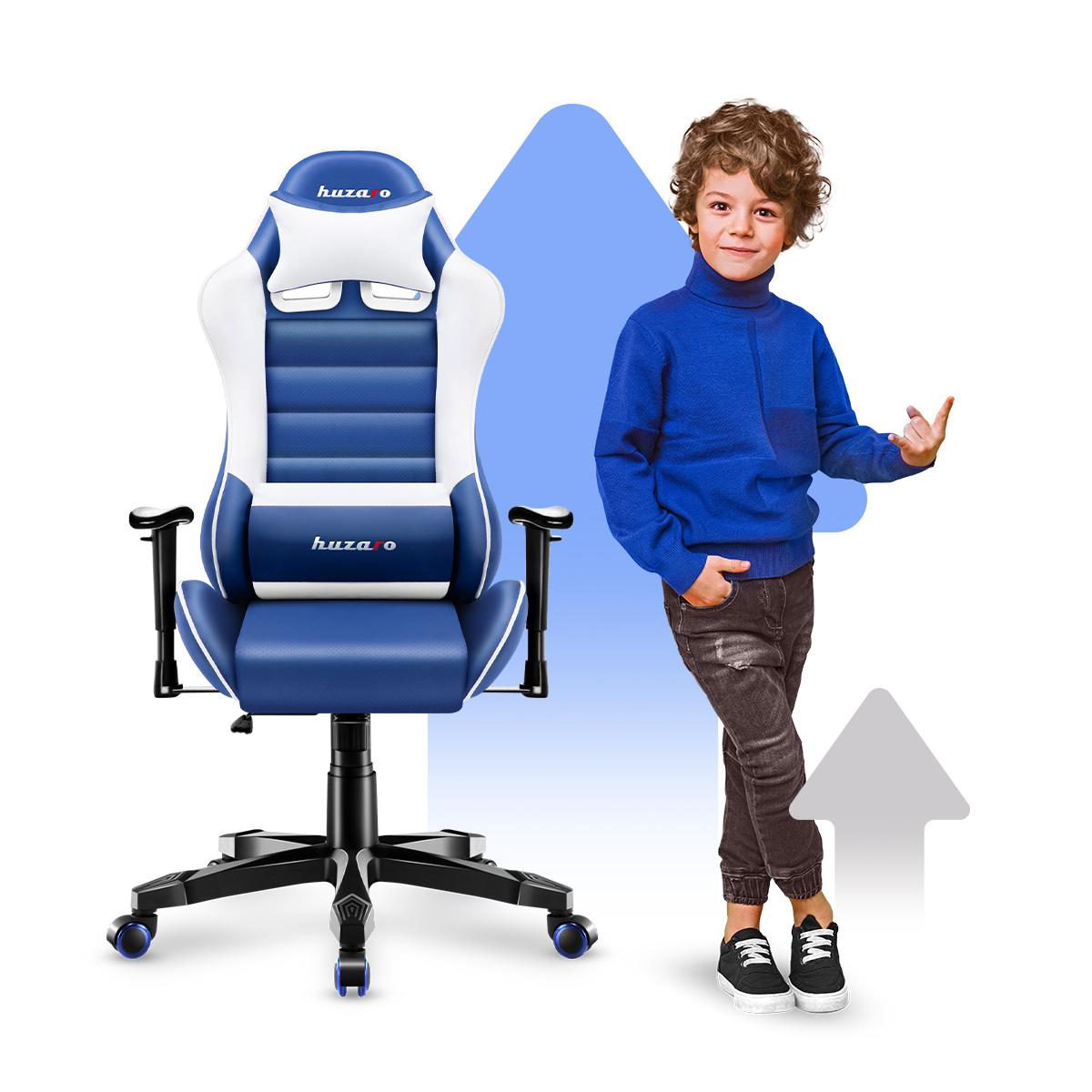 Fotel Ranger 6.0 Blue z dzieckiem